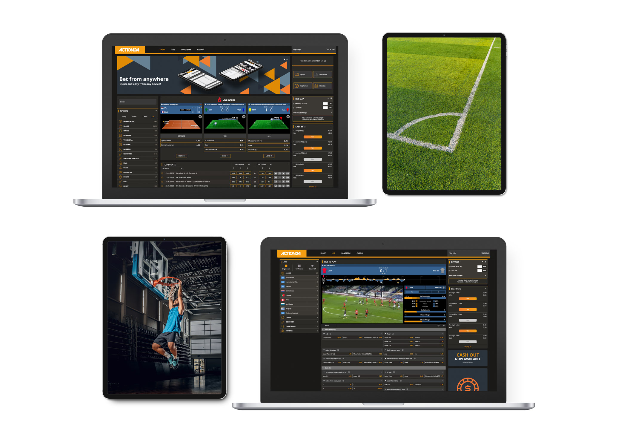 Sports betting iGaming Software Plattform